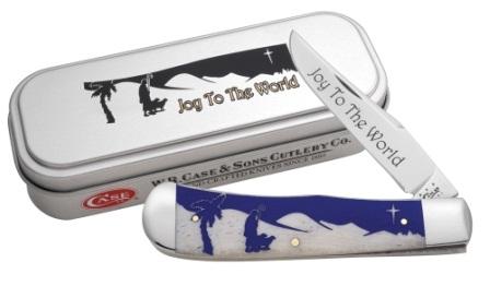 CASE XX KNIFE 10529 CHRISTMAS BACKPOCKET