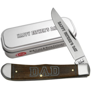 CASE XX KNIFE 10544 BROWN FATHERS DAY TRAPPER