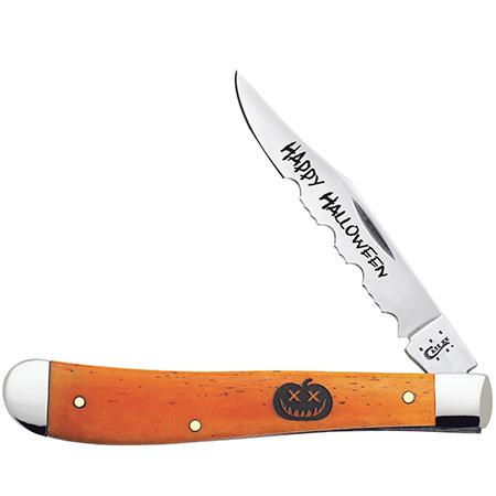 CASE XX KNIFE 10545 HALLOWEEN SLIMLINE TRAPPER