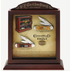 CASE XX KNIFE 11385 COPPERHEAD SET