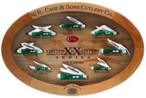 CASE XX KNIFE 11660 JADE BONE MINT SET