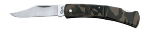 CASE XX KNIFE 118 CAMO CALIBER LOCKBACK