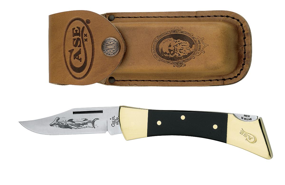CASE XX KNIFE 177 SMOOTH BLACK HAMMERHEAD