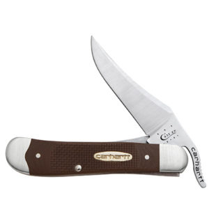 CASE XX KNIFE 36335 DUCK BROWN G-10 RUSSLOCK