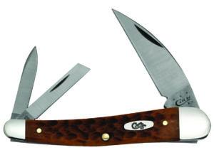 CASE XX KNIFE 41517 CARAMEL BONE SEAHORSE WHITTLER