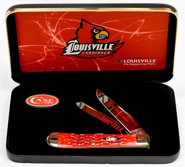 CASE XX KNIFE 49951 UNIVERSITY OF LOUISVILLE TRAPPER