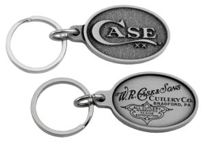 CASE XX ITEM 50126 PEWTER KEY CHAIN