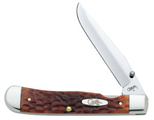 CASE XX KNIFE 7010 CHESTNUT BONE TRAPPERLOCK