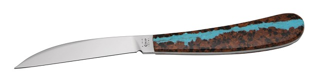 CASE XX KNIFE 7266 TURQUOISE VEIN DESK KNIFE