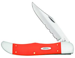 CASE XX KNIFE 80501 ORANGE SYNTHETIC FOLDING HUNTER