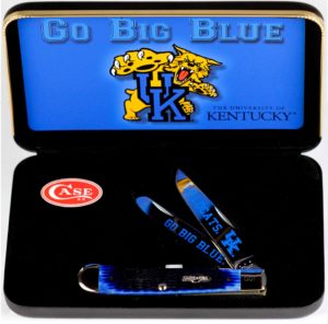 CASE XX KNIFE 49950 UNIVERSITY OF KENTUCKY TRAPPER