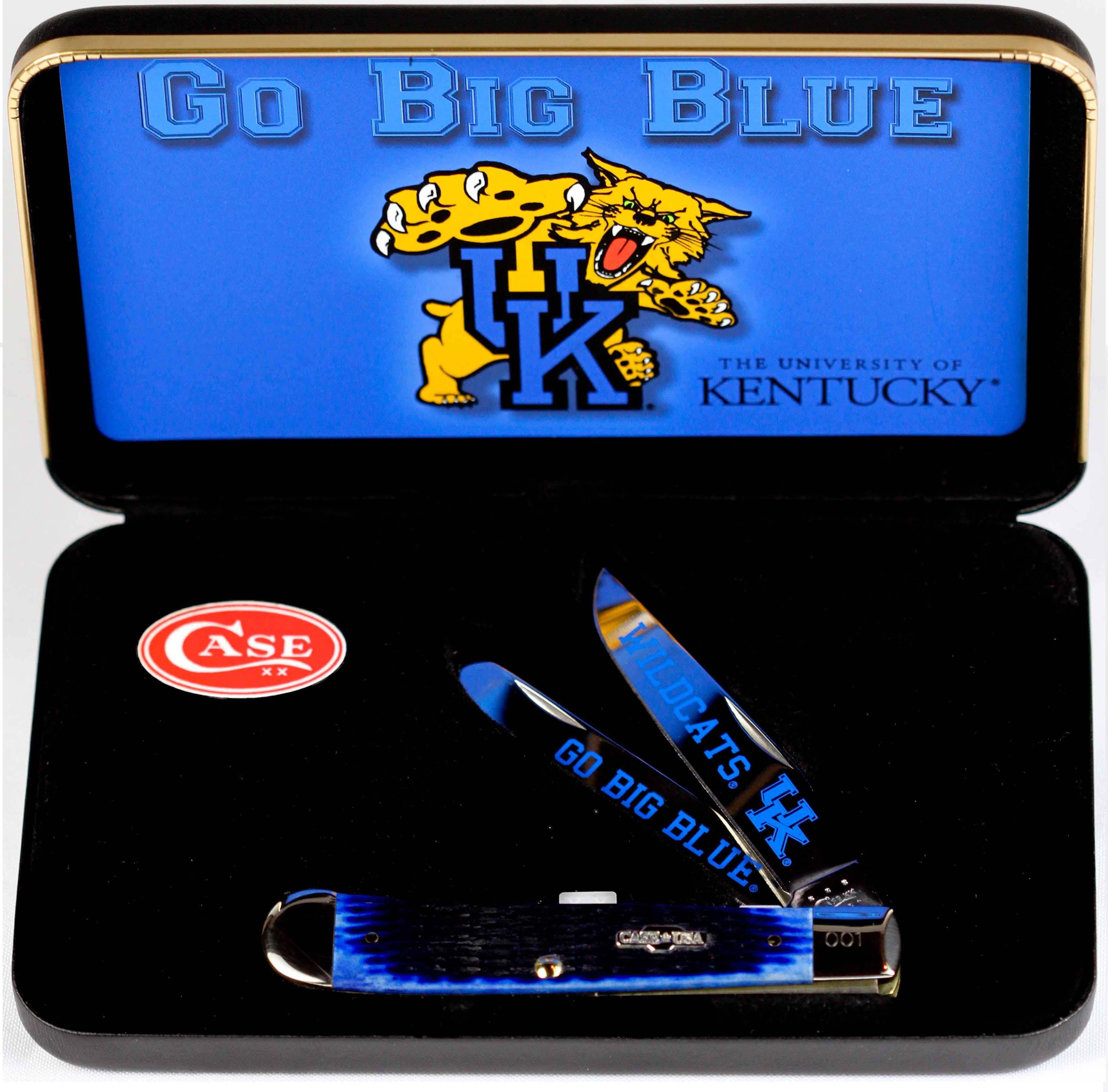 CASE XX KNIFE 49950 UNIVERSITY OF KENTUCKY TRAPPER