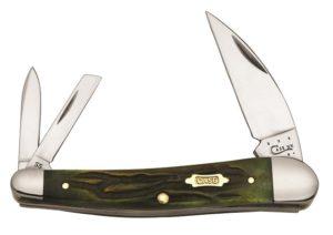 CASE XX KNIFE 41406 MOSS BROWN SEAHORSE WHITTLER