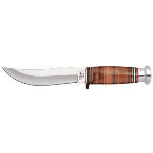 CASE XX KNIFE 10342 LEATHER HUNTER