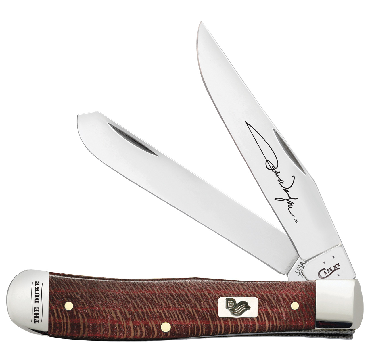 CASE XX KNIFE 10692 RED SYCAMORE TRAPPER