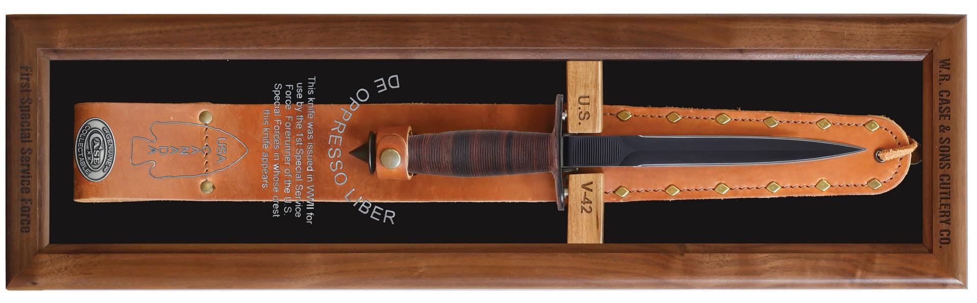 CASE XX KNIFE 21943 V-42 DISPLAY BOX