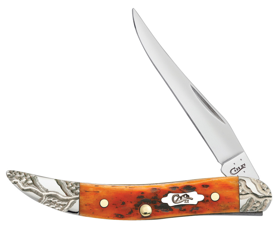 CASE XX KNIFE 53227 WORKED AUTUMN SMALL TEXAS TOOTHPICK