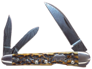 CASE XX KNIFE 7228 MOLASSES LOCKBACK WHITTLER