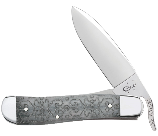 CASE XX KNIFE 31933 GRAY BONE RUSSLOCK