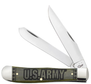 CASE XX KNIFE 15001 U S ARMY TRAPPER