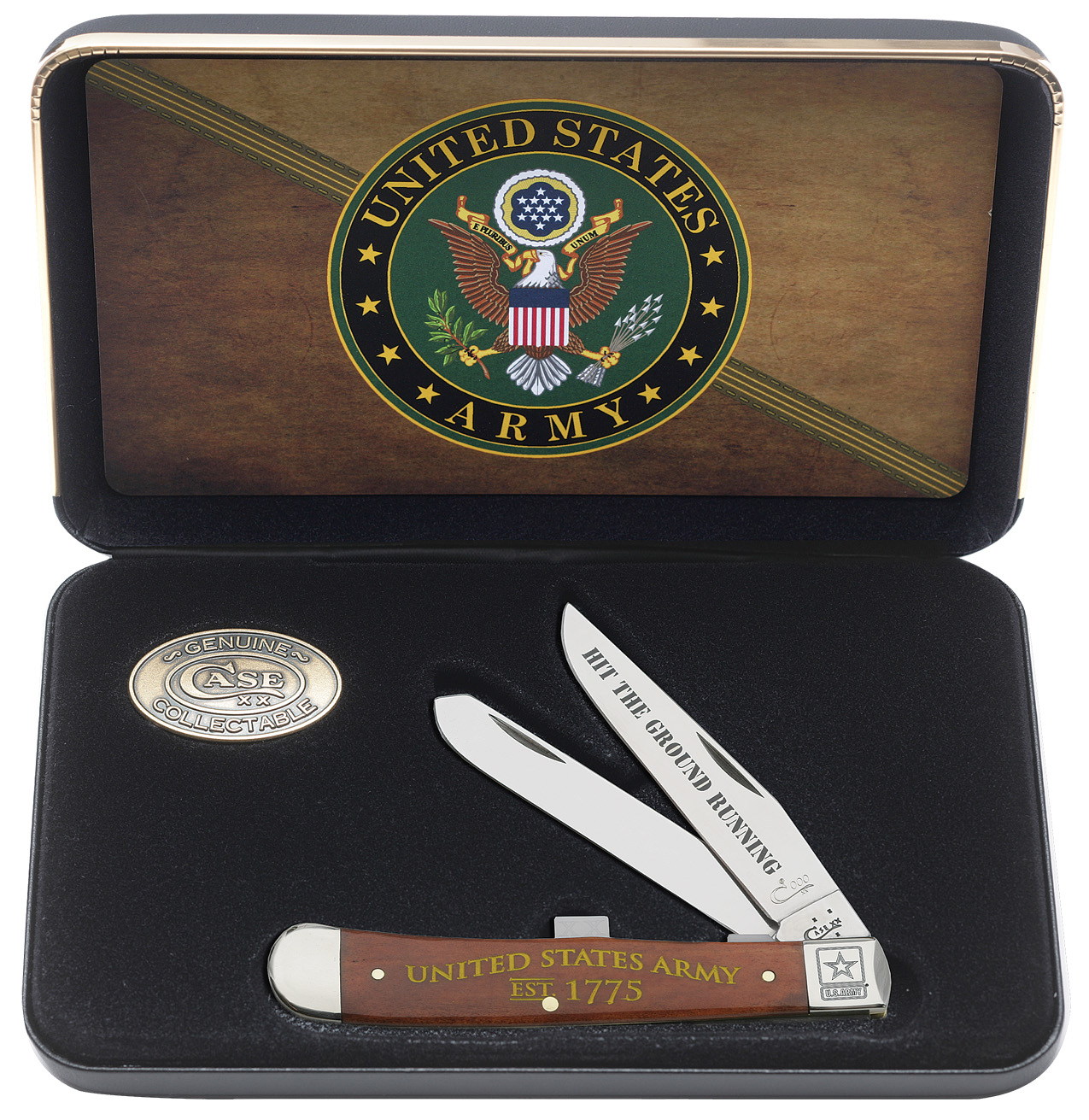CASE XX KNIFE 15007 TRAPPER GIFT SET