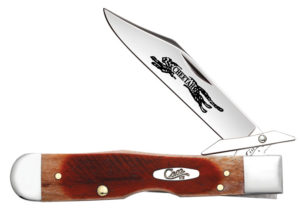 CASE XX KNIFE 33982 CARAMEL BONE CHEETAH