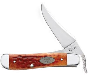 CASE XX KNIFE 23002 WHISKEY BONE RUSSLOCK