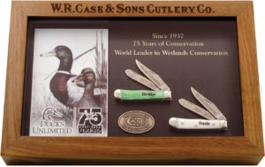 CASE XX KNIFE 7289 DUCKS UNLIMITED TINY TRAPPER SET