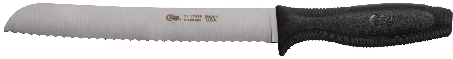 CASE XX KNIFE 31715 BLACK BREAD KNIFE
