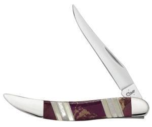 CASE XX KNIFE 11118 PURPLE TURQUOISE SMALL TEXAS TOOTHPICK