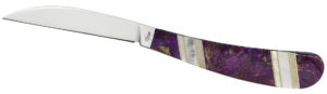 CASE XX KNIFE 11121 PURPLE TURQUOISE DESK KNIFE