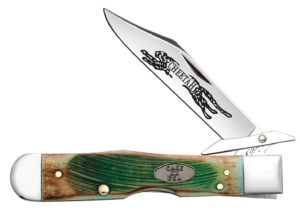 CASE XX KNIFE 51585 SAWCUT CLOVER BONE CHEETAH