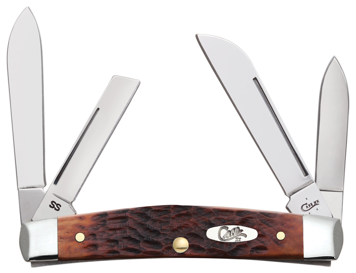 CASE XX KNIFE 7017 CHESTNUT BONE MEDIUM CONGRESS