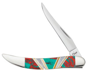 CASE XX KNIFE 11142 EXOTIC SONORA SUNSET SMALL TEXAS TOOTHPICK