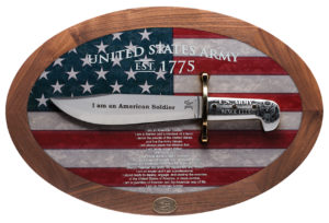 CASE XX KNIFE 15009 U S ARMY COMMEMORATIVE BOWIE