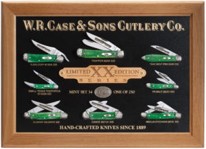 CASE XX KNIFE 11760 LIMITED XX EDITION XXXIV MINT SET