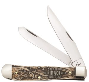 CASE XX KNIFE 22034 WAR SERIES TRAPPER