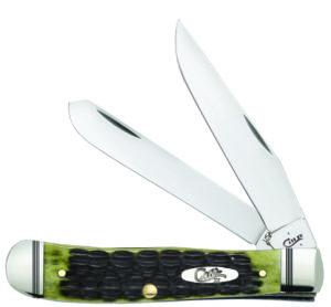 CASE XX KNIFE 22541 OLIVE GREEN BONE TRAPPER