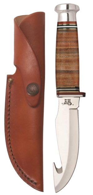 CASE XX KNIFE 10340 LEATHER HUNTER