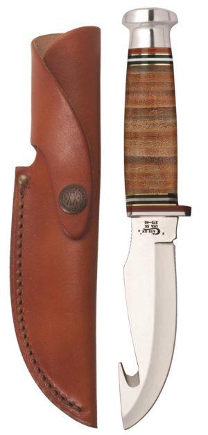 CASE XX KNIFE 10340 LEATHER HUNTER