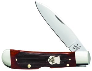 CASE XX KNIFE 22875 CHESTNUT BONE TRIBAL LOCK