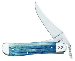 CASE XX KNIFE 64104 BLUE GIRAFFE BONE RUSSLOCK