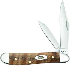 CASE XX KNIFE 53303 CURLY OAK PEANUT