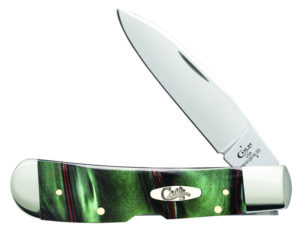CASE XX KNIFE 18528 JUNGLE GREEN KIRINITE TRIBAL LOCK