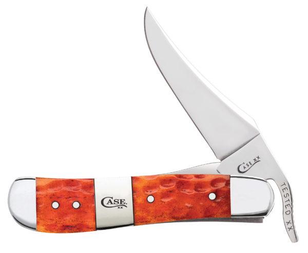 CASE XX KNIFE 14485 TEQUILA SUNRISE BONE RUSSLOCK