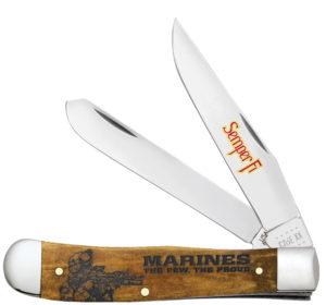 CASE XX KNIFE 13191 USMC TRAPPER