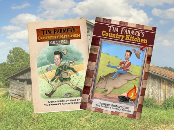 TIM FARMER'S COOKBOOK BUNDLE